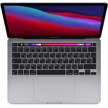 "Apple MacBook Pro 13"" (M1, 2020) 8 ГБ, 256 ГБ SSD, Touch Bar Silver"